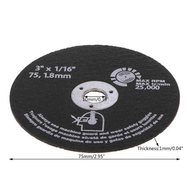 10 sztuk okrągłe żywiczne tarcze szlifierskie brzeszczoty do pił tarczowych do cięcia metalu