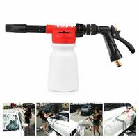 Vehicle Home Car Cleaning Easy Operate Snow Foamer Soap Shampoo Washer Foam Sprayer Lance ABS High Pressure Adjustable Portable