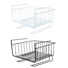 New Kitchen Cabinet Basket Cup Organizer Hanging Storage for  Bin Under Shelf Wire Rack