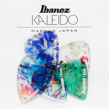 Ibanez KALEIDO Series Guitar Pick, Sell by 1 Piece ibanez os rd offspring model pick