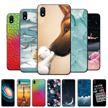 Voor Xiaomi Redmi 7 7A Case Landschap Siliconen Telefoon Case Voor Redmi 6 6A 8 8A Case Redmi 8A Terug cover Redmi 7A Behuizing