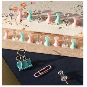 Image 4 - 6 zestaw/partia Mint zielony różowy różowe złoto kolor klipy na plik biurowy narzędzia wiążące wiele rozmiarów papieru zacisk Memo...