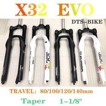 """X-FUSION mountainbike gabel X32 EVO RL2 Luft fahrrad gabel 26 """"/27.5er/650B für XC/TRAIL QR9mm Reise 100/120/140mm Manuelle Steuerung"""