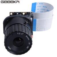 GeeekPi 8 مللي متر التوت بي كاميرا وحدة OV5647 5MP البعد البؤري ل التوت بي 4 B جميع الموديلات/جيتسون نانو/الموز بي