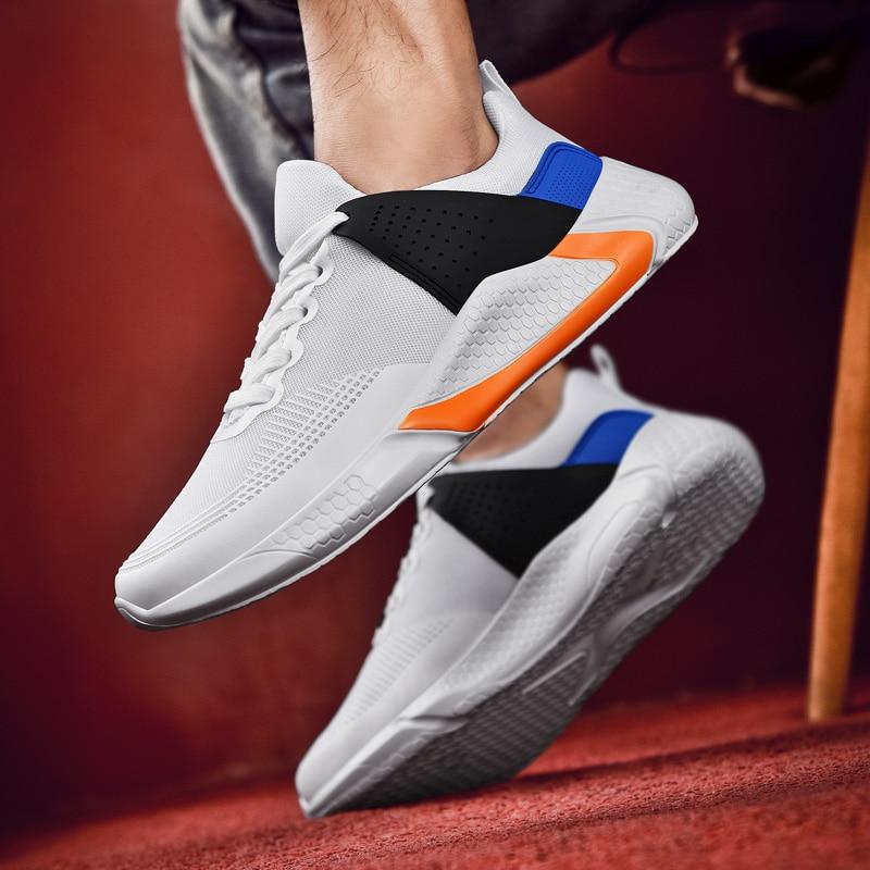 Spring Running Sneakers Men High Quality Super Light Mesh Shocks Sports Men Jogging Shoes Male Athletic Shoes Zapatillas Homem