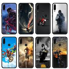 Case Cover for Lenovo Z6 Lite Youth Pro 5G A6 Note K10 Plus Phone Thin Shell Moto Cross Motorcycle Sports