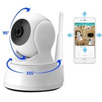IP kamera do domowego systemu alarmowego dwukierunkowy dźwięk HD 720P bezprzewodowa mini kamera 1MP Night Vision CCTV kamera wifi niania elektroniczna baby monitor w Kamery nadzoru od Bezpieczeństwo i ochrona na
