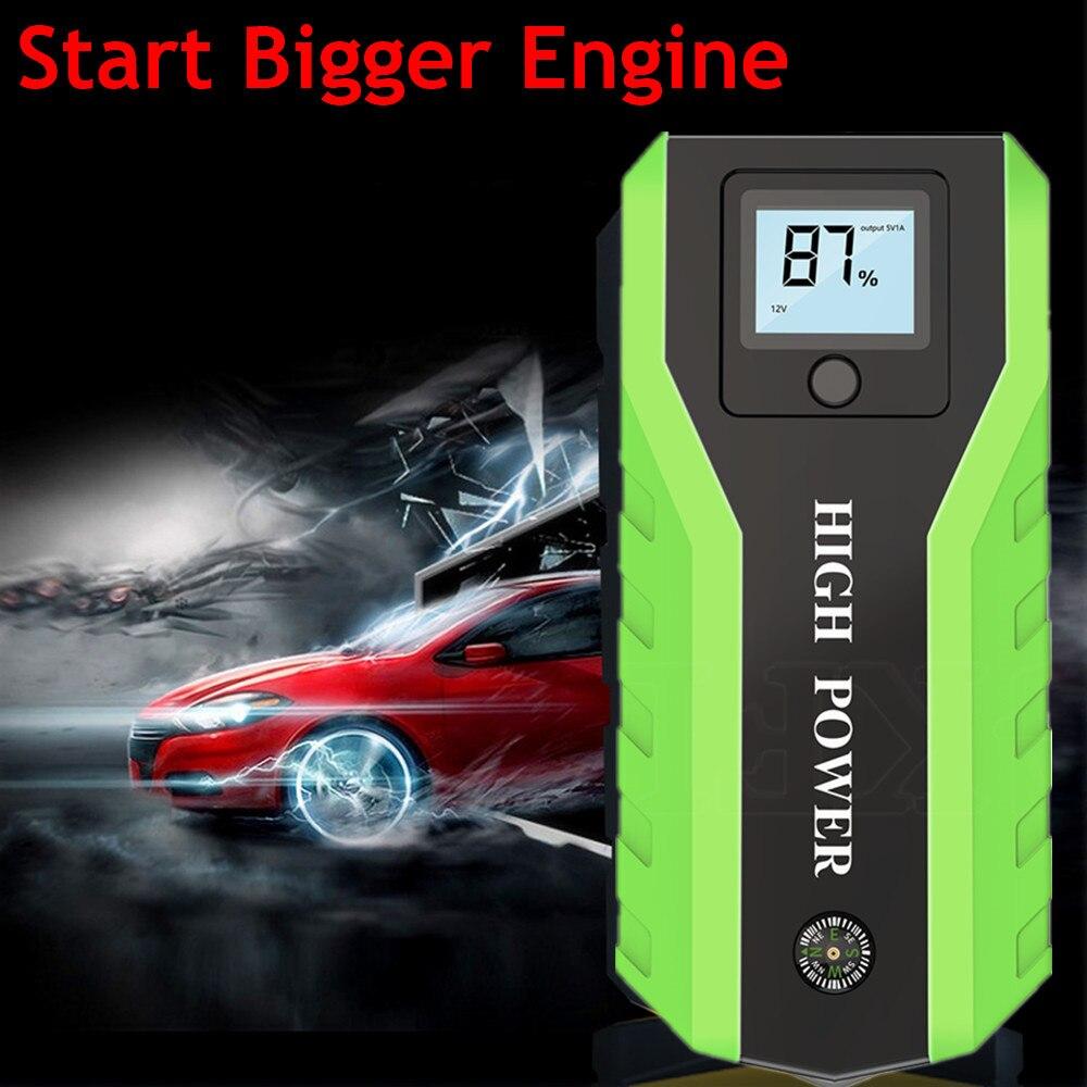 Новый GKFLY автомобильный пусковое устройство power Bank 12 В пусковое устройство бензиновое дизельное автомобильное зарядное устройство для автомобильного аккумулятора бустер Бастер стартер автомобиля