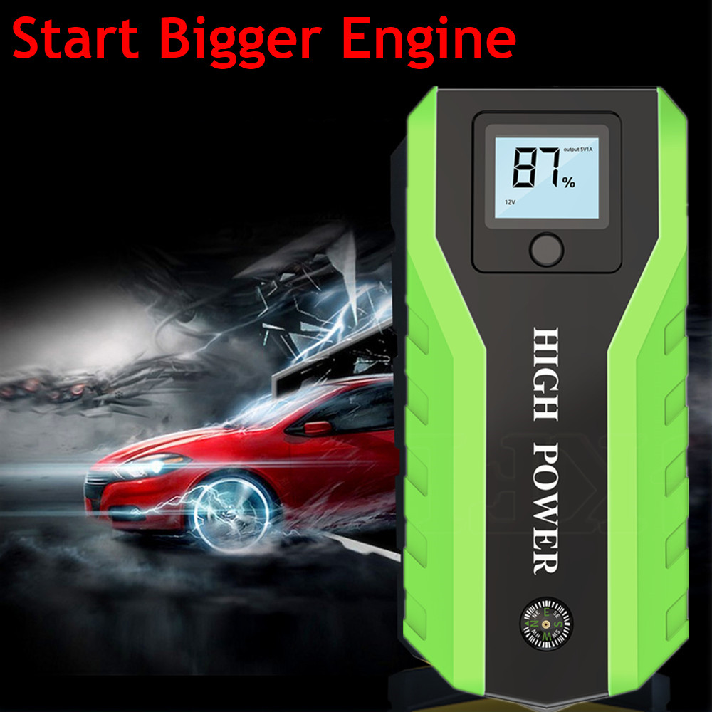 New GKFLY Car Jump Starter Power Bank 12V Starting Device Petrol Diesel Car Charger For Car Battery Booster Buster Car Starter