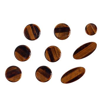 9 sztuk zestaw altowy tenorowy saksofon sopranowy Sax obudowa kluczyka przyciski wkłady akcesoria (brązowy) tanie i dobre opinie AE (pochodzenie)