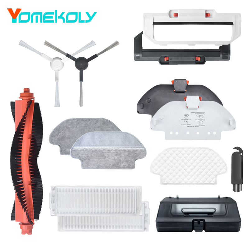Main//Side Brushes//Filters Accessories For XIAOMI Robot Vacuum Home Applicance US