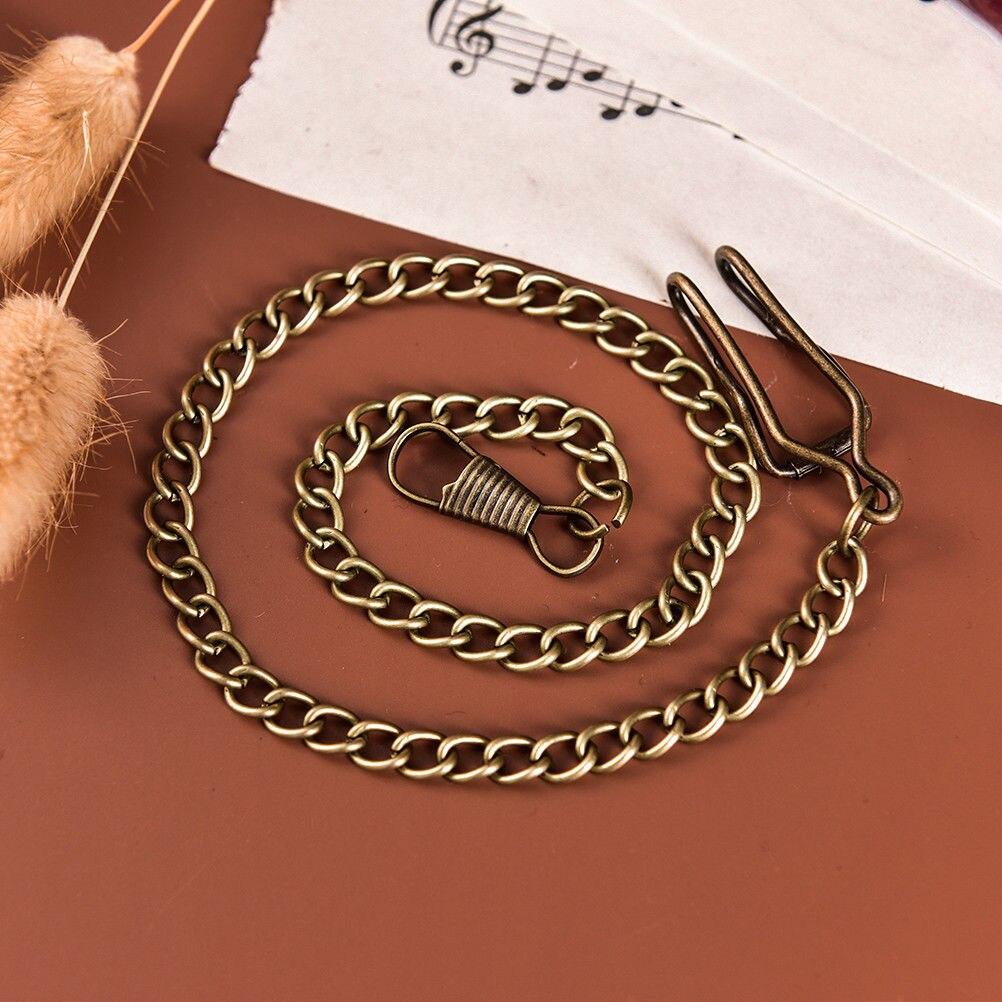 Hot Sale Bronze Alloy Pocket Watch Chains Chain For Antique Quartz  Vintage Pocket Watch