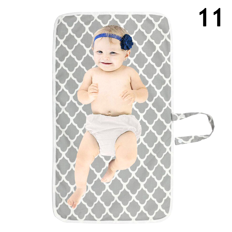 High Quality Newborn Nappy Diaper Play Changing Mat Portable Foldable Washable For Travel