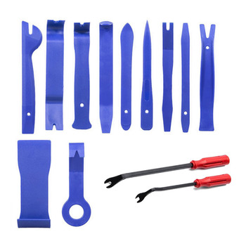 13Pcs/Set Car PDR Removal Tools Audio Disassembly Tool Kit Interior Door Clip Panel Trim Dashboard Car Stereo Removal Tool automobile audio car trim removal tool kit set door panel auto dashboard plastic interior outillage automobile
