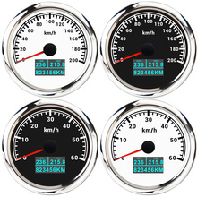 GPS COG Speed-Gauge Marine Motorcycle Boat Lcd-Display 85mm with Trip-Odometer for Car