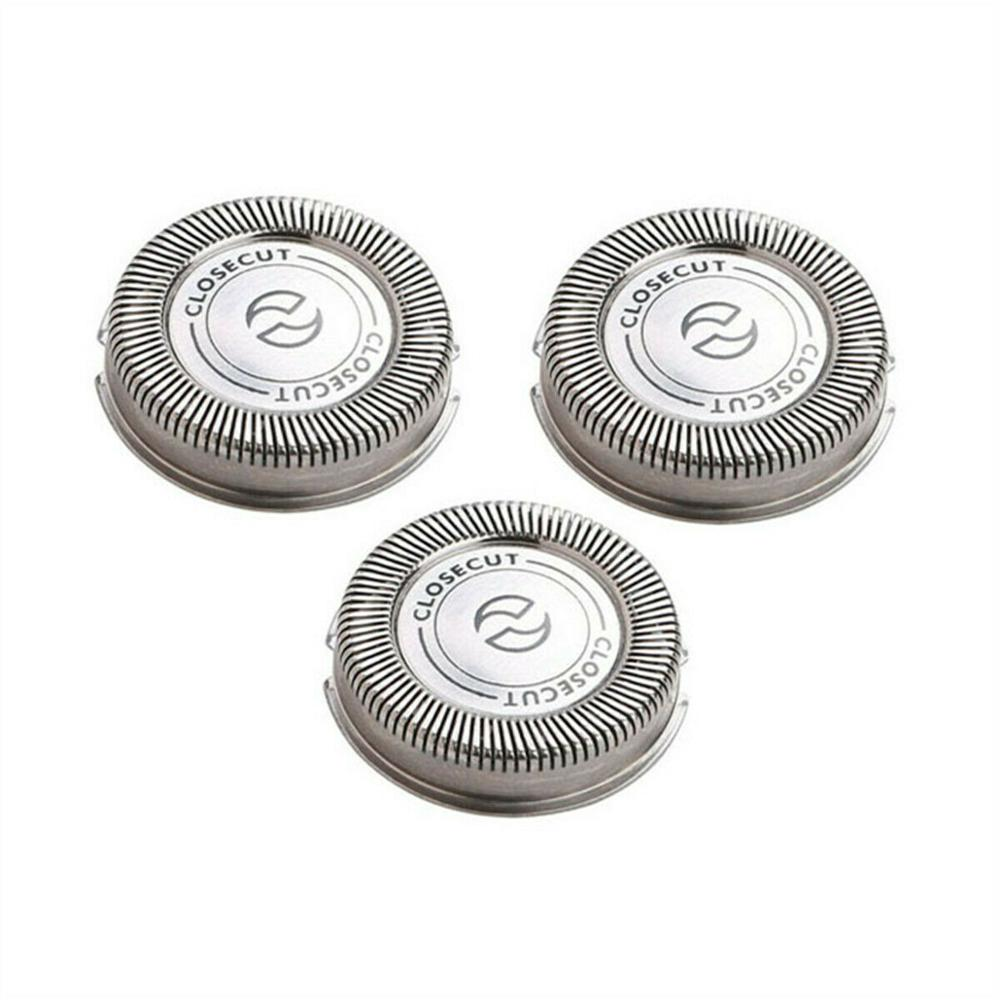 3pcs Replacement Shaver Head For Philips  HQ4+ HQ3 HQ56 HQ55 HQ6843 HQ300 HQ64 HQ916 HQ6695 HQ912 HQ988 CloseCut Shaver Heads