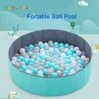 Портативный игровой манеж Babyinner, бассейн с шариками для детей, игровой забор для новорожденных, для использования в помещении и на открытом ...