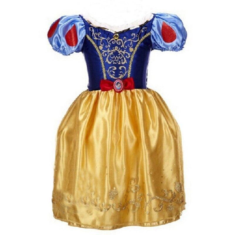 Image 3 - 2019 Girls Dress Cinderella Costume Kids Rapunzel Belle Sofia Sleeping Beauty Princess Dress Children Halloween Party Dress Upcinderella costumecostume for kidsdress cinderella -