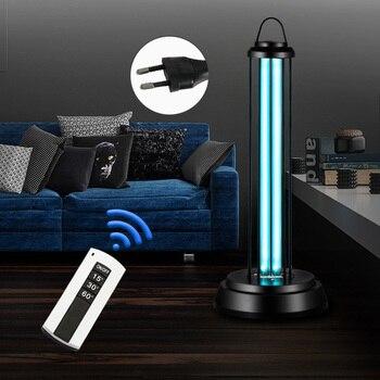 Mobile UV Lamp Light 220V 38W Remote Household Portable for Bedroom Kitchen Office FP8