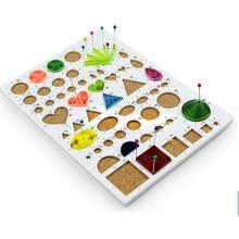 1PC placa de Cortiça Papel Quilling Template Quilling Ferramenta Quilling Papel-scrolling Filigrana Mosaico DIY Papel Carft