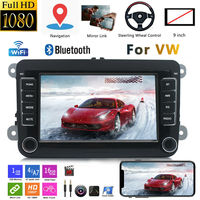 7 Android 8.1 Car Stereo Radio Bluetooth GPS Navigation For VW GOLF5 PASSAT MP5 Player Steering Wheel Control Multimedia player