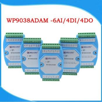 0-20MA/4-20MA Current Acquisition Module 6AI/4DI/4DO MODBUS Communication-WP9038ADAM 1