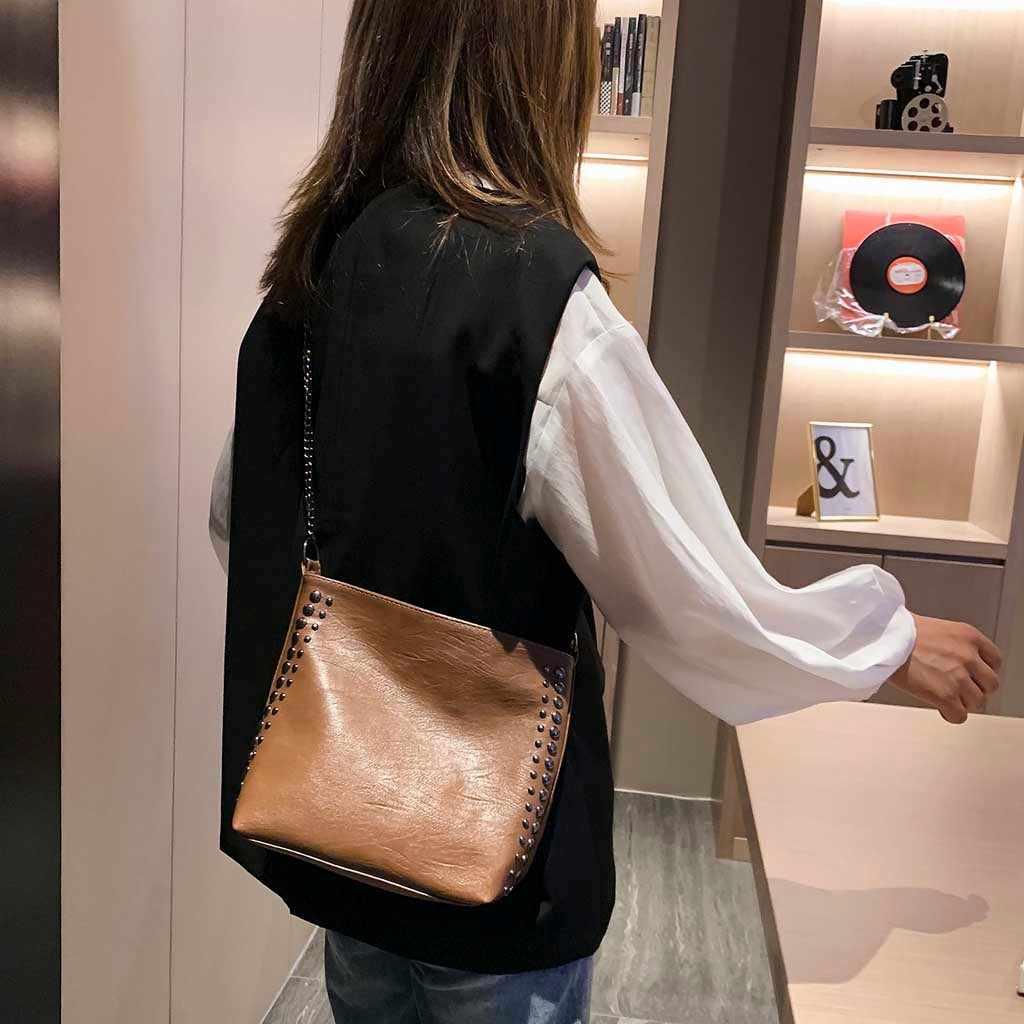 高級ハンドバッグの女性の女性秋シンプルなクロスボディバッグカジュアルな大容量のショルダーバッグパッケージデザイナーボルサ feminina