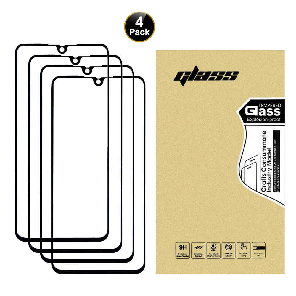 50 Pcs Camdems 3in1 atau 4in1 9H Wholesale Penuh Lem Pelindung Layar Anti Gores untuk XiaomiCC9 K20 9SE MIX3 untuk Redmi 7A