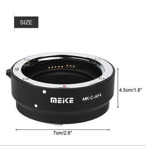 Image 5 - Meike Adaptador electrónico de enfoque automático para MK C AF4, adaptador de lente de montaje para cámara, tubo de extensión para Canon, EOS M, M1, M2, M3, M5, M6, M10, EF M