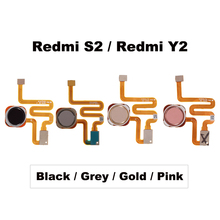 Xiaomi redmi S2/redmi Y2 指紋スキャナタッチセンサーidホームボタンリターンキーアセンブリフレックスケーブル