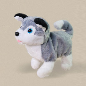 Image 3 - Robot Dog Electronic Dog Plush Puppy Jump Wag Tail Leash Teddy Toys Walk Bark Funny Toys For Children Birthday Gift