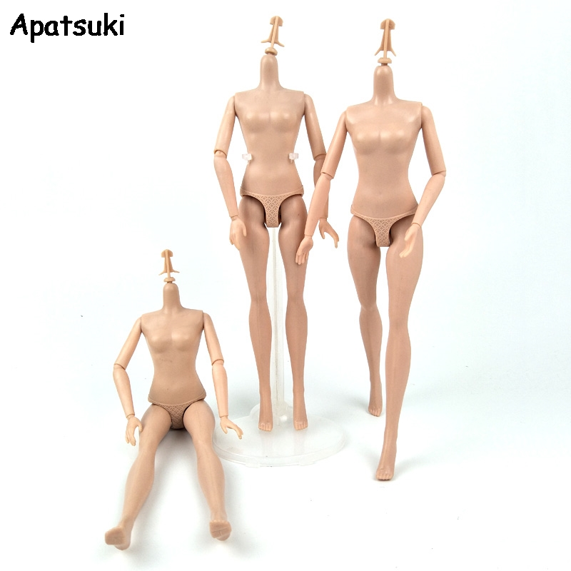 1pc 1/6 9 Jointed DIY Movable Naked Doll Body For 11.5