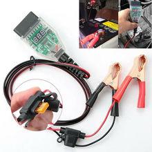 OBD2 Car Computer ECU Memory Saver Cigarette Lighter OBD Connect Emergency ECU Battery Saver Replace Car Battery Safe