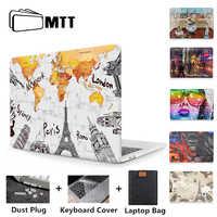MTT Retro Fall Für Macbook Air 11 13 Pro 13,3 16 15 Retina Mit Touch Bar Abdeckung für apple mac buch 12 zoll a1534 Laptop Hülse