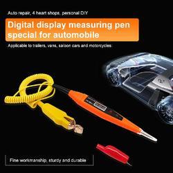 Cyfrowy próbnik samochodowy wielofunkcyjny cyfrowy wyświetlacz tester napięcia długopis testowy 2.5-32V do sprawdzania obwodów bezpieczniki