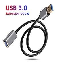 KEBIDU USB 연장 케이블 Smart4 용 USB 3.0 케이블 Xbox One 초고속 USB3.0 Extender 데이터 코드 USB 연장 케이블 1m