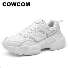 COWCOM Drop Sale Wholesale 2019 Winter  Low Help With Running Shoes Women Light Fashion Casual Sports Shoes  CYL A 657