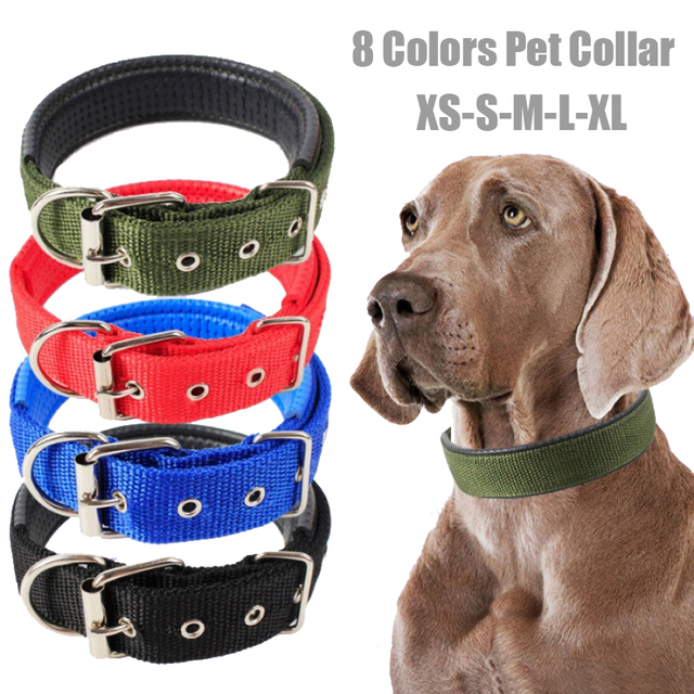 Adjustable & Durable Pet Collar For Large & Small Dogs  1