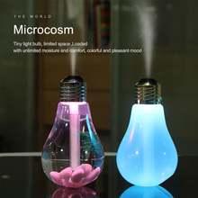 Красочные светильник лампочка usb увлажнитель воздуха лампа