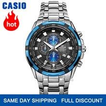 Casio часы мужские Edifice лучший бренд класса люкс кварцевые часы водонепроницаемые световой хронограф мужские часы F1 гоночный элемент спортив...