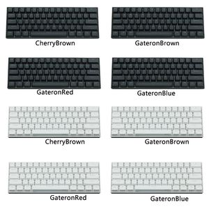 Image 3 - Anne Pro 2 Mechanical Keyboard 60% NKRO Bluetooth 4.0 Type C RGB 61 Keys Mechanical Gaming Keyboard Cherry Switch Gateron Switch