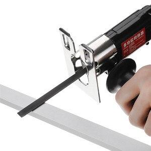 Image 4 - DANIU сабельная пила насадка для замены электрической дрели в сабельную пилу джиг пилы металла для резки древесины металла