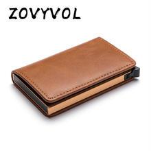 Новое поступление 2020 защитный кошелек zovyvol для карт мужчин