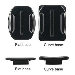 Image 2 - Voor Go Pro Accessoires Sticker Flat Curved Adhesive 3M Vhb Mount Surfboard Opgedoken Helmen Voor Gopro Hd Hero 9 8 7 6 5 4 3