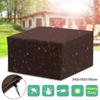 Waterproof Outdoor Garden Furniture Cover Covers for Wicker Sofa Protection Set Table Lounge Patio Rain Snow Dustproof Covers image