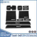 Door Groove Mat For Suzuki Swift 2004 2005 2006 2007 2008 2009 2010 Maruti Sport Accessories ZD11S ZC31S Accessories Anti-Slip