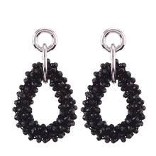 2019 New Dangle Verklaring Oorbellen Handmade Crystal Beads Drop Earrings For Women Ladies Party Gifts Fashion Jewelry