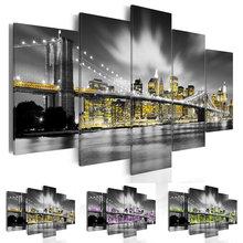 Mooncresin5шт/набор алмазная живопись 5d Ландшафтный мост полная