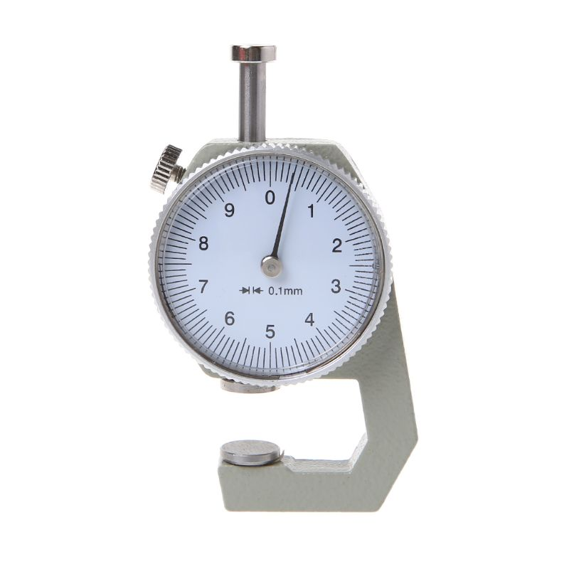 Dial Thickness Gauge 10 20mm Leather Paper Thickness Meter Tester Accuracy 0.1mm L69A