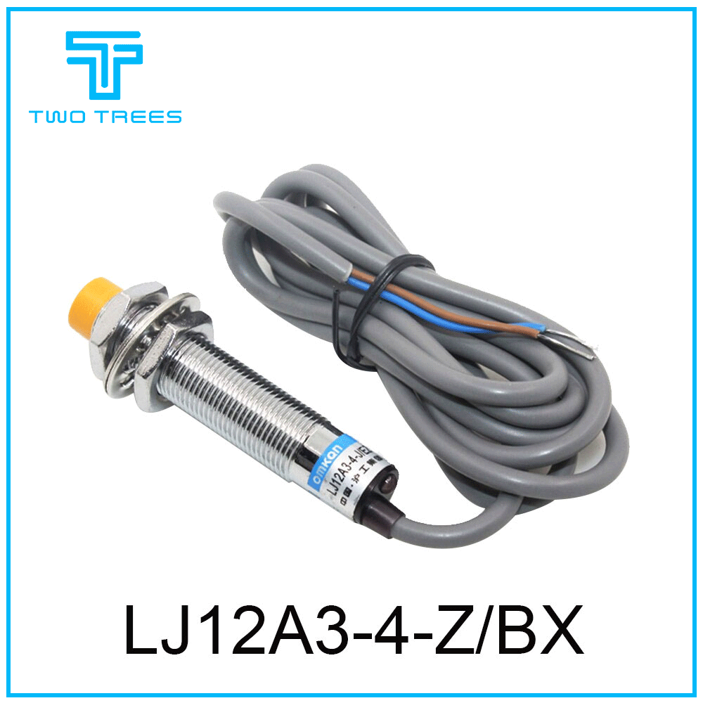 1Pcs LJ12A3-4-J//EZ 4mm Detection Distance NO Inductive Proximity Sensor Switch